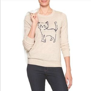 Banana Republic Factory Cat Forever Year Round Sweater